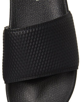 BLACK GEO WOMENS FOOTWEAR RUSTY SLIDES - FOL0194GBK
