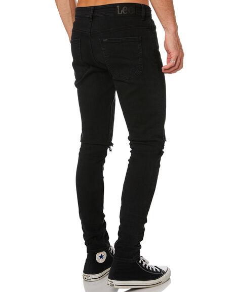 SIX MONTH BLACK MENS CLOTHING LEE JEANS - L-606425-KF7SMB