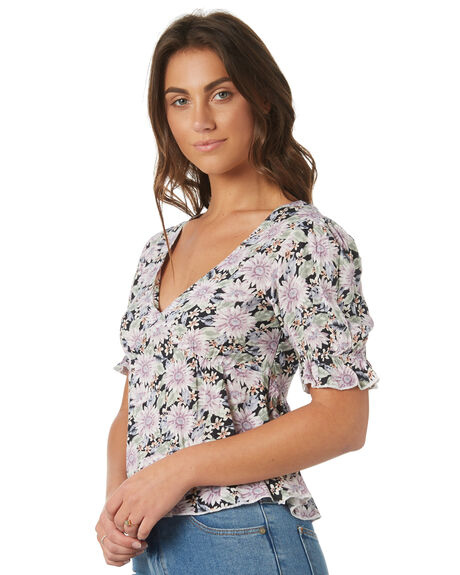 BLACK OUTLET WOMENS THE HIDDEN WAY FASHION TOPS - H8184167BLACK
