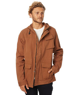 DUST BROWN MENS CLOTHING O'NEILL JACKETS - 3712904DBRN