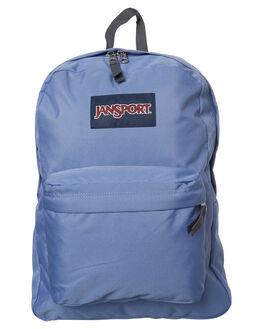 BLEACHED DENIM MENS ACCESSORIES JANSPORT BAGS + BACKPACKS - JST501JS0GX