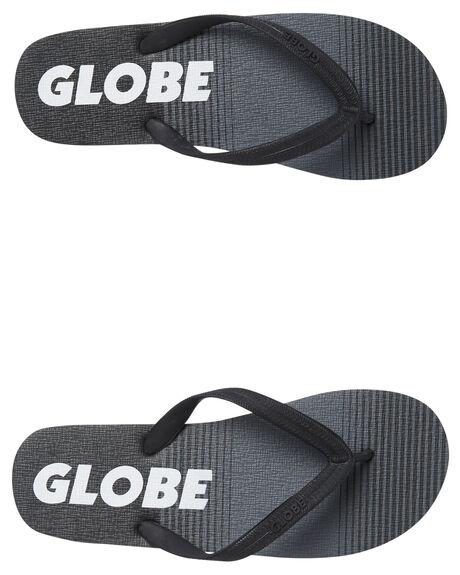BLACK MENS FOOTWEAR GLOBE THONGS - GBZULU10022
