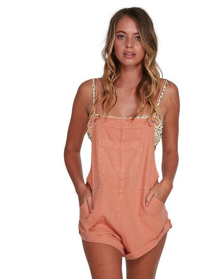 PHEASANT WOMENS CLOTHING BILLABONG PLAYSUITS + OVERALLS - BB-6572501-PHS