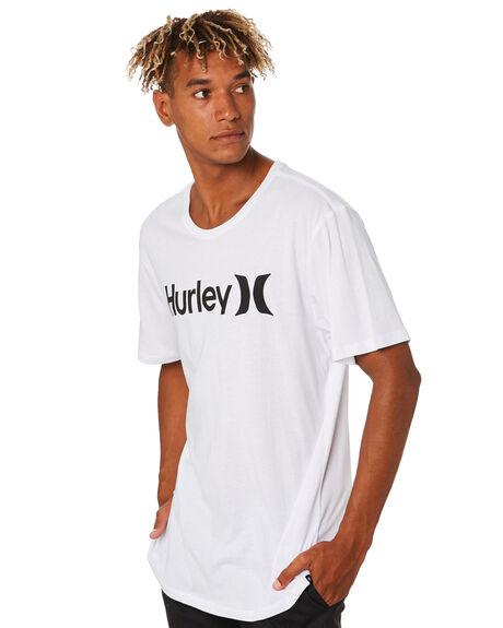 WHITE BLACK MENS CLOTHING HURLEY TEES - AH7935102