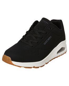 BLACK WOMENS FOOTWEAR SKECHERS SNEAKERS - 73690BLK