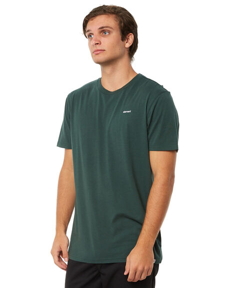 GREEN MENS CLOTHING ELEMENT TEES - 174031GRN
