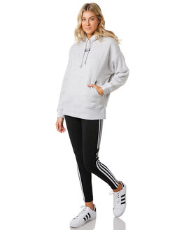 LIGHT GREY HEATHER WOMENS CLOTHING ADIDAS JUMPERS - ED5849GRY