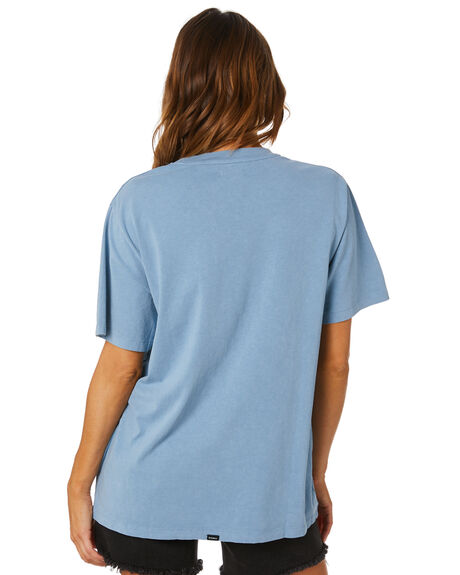 STEELE BLUE WOMENS CLOTHING THRILLS TEES - WSMU20-133ESBLU
