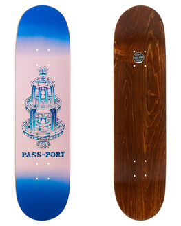 BLUE BOARDSPORTS SKATE PASS PORT DECKS - R22FOUNTAINBLU