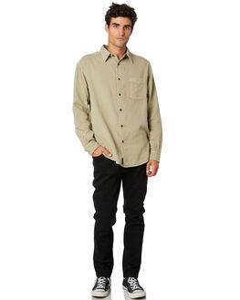 OXFORD TAN MENS CLOTHING THRILLS SHIRTS - TW20-227COXTAN