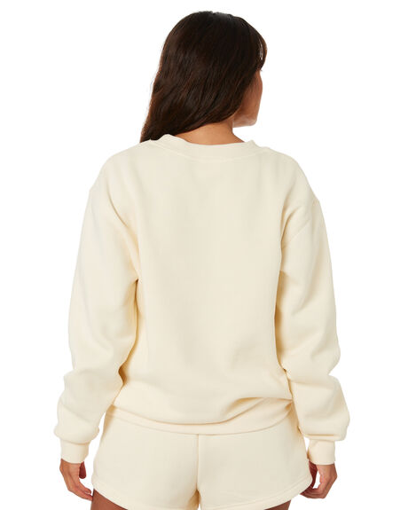 CREAM WOMENS CLOTHING ZULU AND ZEPHYR JUMPERS - ZZ3248CRM