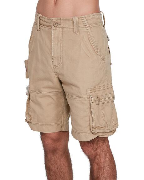 KHAKI MENS CLOTHING ELEMENT SHORTS - EL-193351-KHA