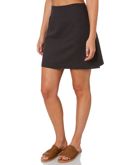 CHARCOAL WOMENS CLOTHING NUDE LUCY SKIRTS - NU23796CHAR