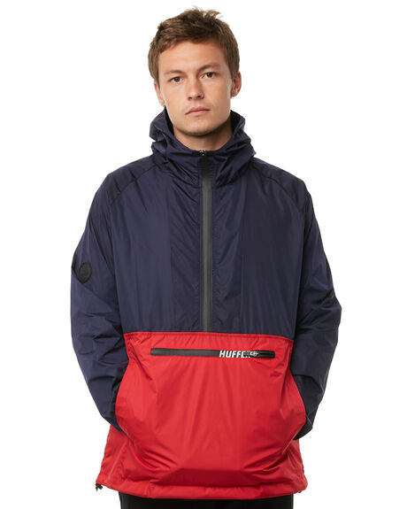 RED NAVY MENS CLOTHING HUFFER JACKETS - MJA81S310RED