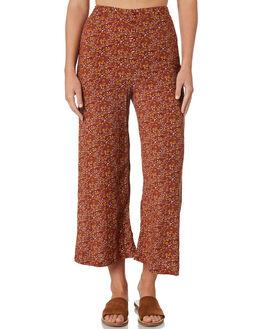 BRANDY WOMENS CLOTHING THE HIDDEN WAY PANTS - H8189192BRNDY
