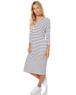 MALA STRIPE WOMENS CLOTHING ASSEMBLY DRESSES - AW-W21705MALS