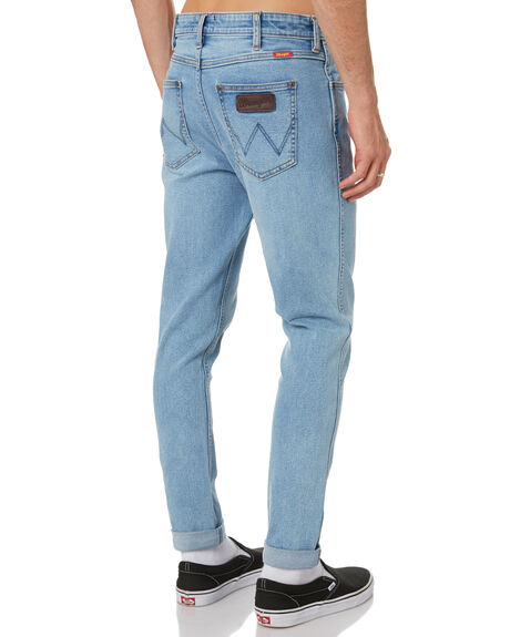 CHISEL BLUE MENS CLOTHING WRANGLER JEANS - W-901783-NT6