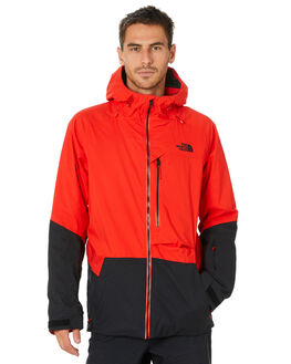 FIERY RED TNF BLACK BOARDSPORTS SNOW THE NORTH FACE MENS - NF0A3LYZWU5