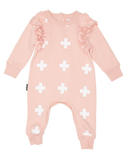 PINK KIDS GIRLS TINY TRIBE DRESSES + PLAYSUITS - TTF19-6038APINK