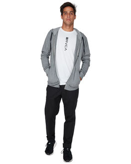 HEATHER GREY MENS CLOTHING RVCA JUMPERS - RV-R393160-H31
