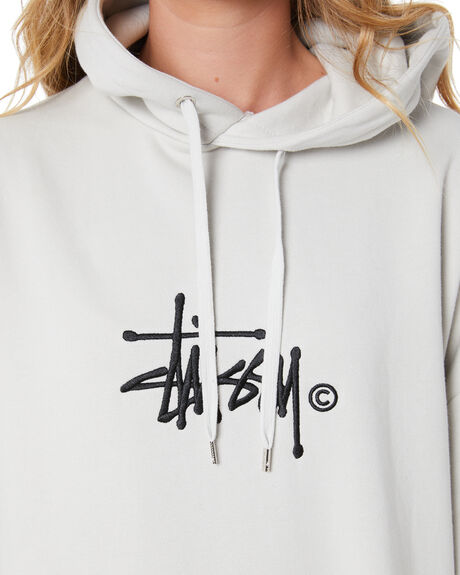 WHITE SAND WOMENS CLOTHING STUSSY JUMPERS - ST105306WSAND