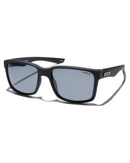 MATTE BLACK MENS ACCESSORIES LIIVE VISION SUNGLASSES - L0603AMTBLK