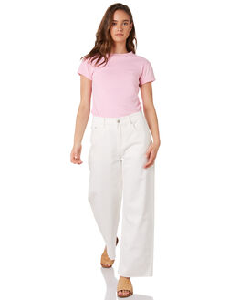 PINK WOMENS CLOTHING ZULU AND ZEPHYR TEES - ZZ2889PPINK