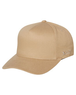 KHAKI MENS ACCESSORIES FLEX FIT HEADWEAR - 181000KHA