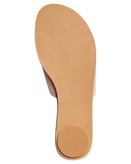 BLUSH SUEDE WOMENS FOOTWEAR URGE FASHION SANDALS - URG17075BLUSH