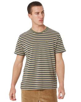 WHISKEY STRIPE MENS CLOTHING WRANGLER TEES - 901616MD0