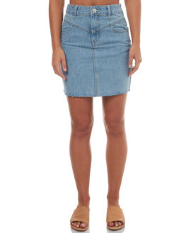DREAM WOMENS CLOTHING RES DENIM SKIRTS - RW0949DRE