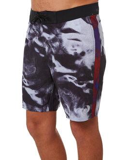 TIDAL BLACK MENS CLOTHING GLOBE BOARDSHORTS - GB01728015TDBLK