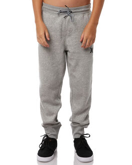 DARK GREY HEATHER KIDS BOYS HURLEY PANTS - ABPTBCBP06G