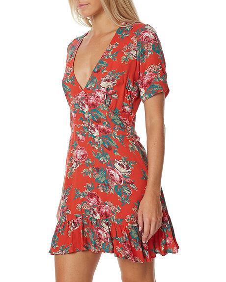 VNT HEART RED WOMENS CLOTHING AUGUSTE DRESSES - AUG-HN2-17148-VHR