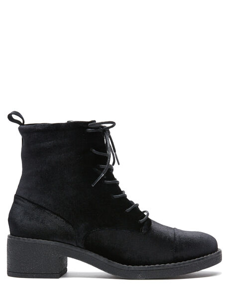 BLACK WOMENS FOOTWEAR THERAPY BOOTS - 9173BLK