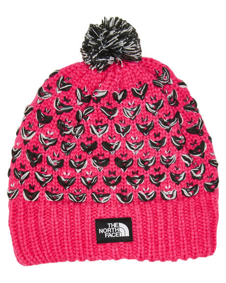 MR PINK KIDS GIRLS THE NORTH FACE HEADWEAR - NF0A4A9DGR6