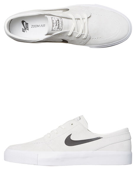 f50bb1554f3a Nike Mens Sb Air Zoom Stefan Janoski Ht Suede Shoe - Summit White ...