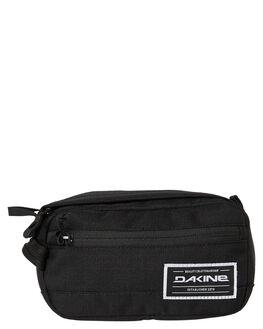 BLACK MENS ACCESSORIES DAKINE BAGS + BACKPACKS - 10001808BLK