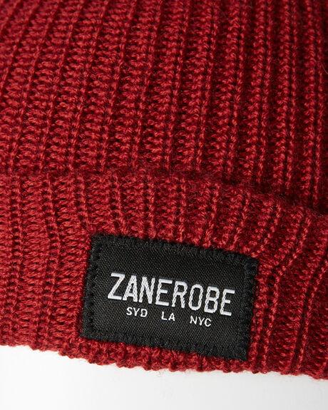 DARK CHERRY MENS ACCESSORIES ZANEROBE HEADWEAR - 908-FTDKCH