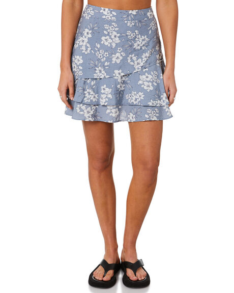 BLUE FOG WOMENS CLOTHING RUSTY SKIRTS - SKL0531BFG