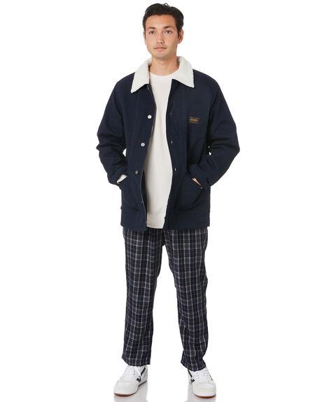NEW NAVY MENS CLOTHING STUSSY JACKETS - ST006512NWNVY