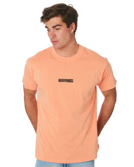 HAZARD ORANGE MENS CLOTHING BILLABONG TEES - 9596030AHZORG