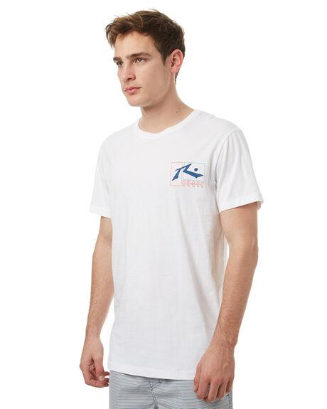 WHITE MENS CLOTHING RUSTY TEES - TTM1908WHT