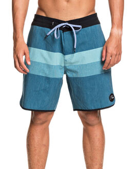 MAJOLICA BLUE MENS CLOTHING QUIKSILVER BOARDSHORTS - EQYBS04349-BSM0