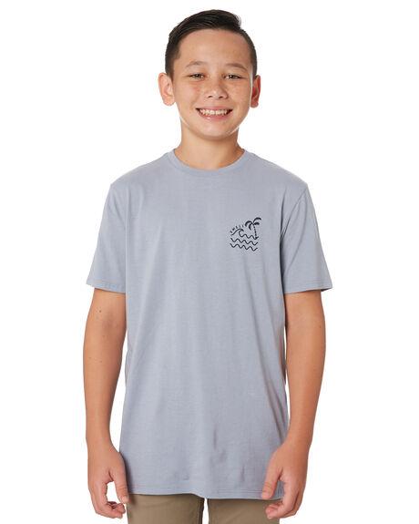 ARTIC BLUE KIDS BOYS SWELL TOPS - S32011001ARTBL