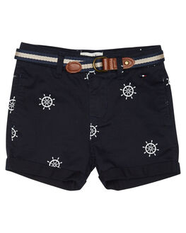 NAVY STONE KIDS TODDLER BOYS ROOKIE BY THE ACADEMY BRAND SHORTS - R19S601NVYST