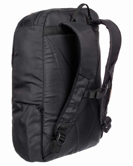BLACK MENS ACCESSORIES QUIKSILVER BAGS + BACKPACKS - EQYBP03605-KVD0