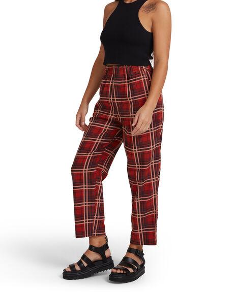 MULTI WOMENS CLOTHING RVCA PANTS - R217274-M77