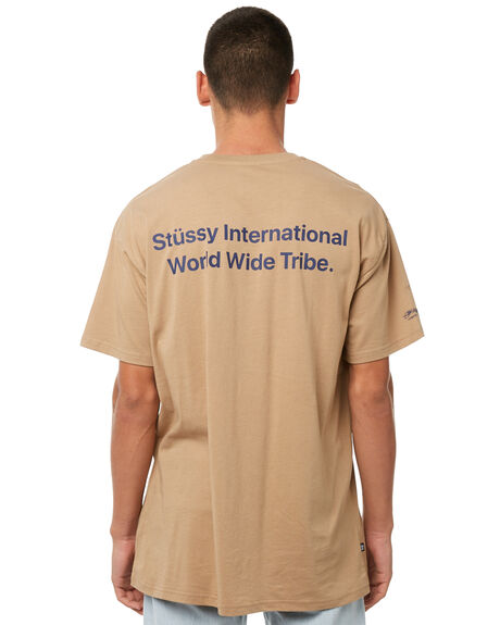 PIGMENT TAN MENS CLOTHING STUSSY TEES - ST085006PWTAN
