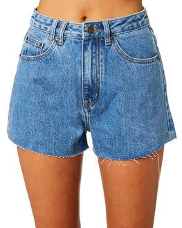 CHOP HACKER BLUE WOMENS CLOTHING INSIGHT SHORTS - 1000083634BLU